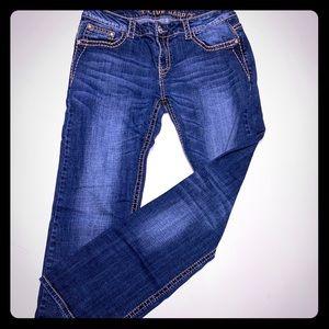 Live Hard Bling Jeans